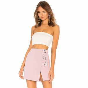 NBD X Revolve NWT Cool Delaney Mini Skirt in Lilac